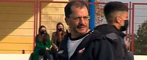 José Juan Romero, al término del partido en Las Cabezas de San Juan