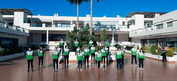 Imagen de las las participantes de las distintas autonomías en el Campus