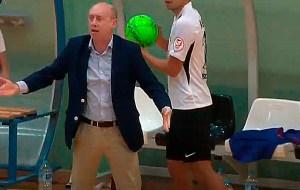 Valladares, durante el partido del sábado pasado ante el Santiago Futsal