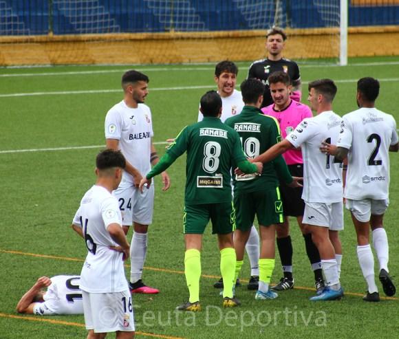 El Ceuta ha superado con claridad al conjunto roteño, sólo pendiente de defender