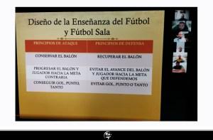 Un momento del curso 'online' de Entrenador de Fútbol UEFA C