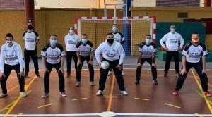 Profesores y alumnos del Curso de Nivel Avanzado de Fútbol Sala / Foto: FFCE