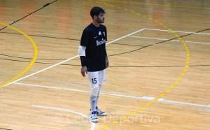Dani Cabezón, portero de la UA Ceutí FS
