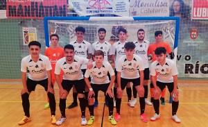 Formación del Deportivo UA Ceutí, este sábado en el pabellón 'Guillermo Molina'