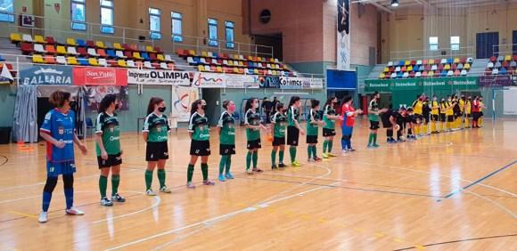 El partido ha vuelto a jugarse sin público en las gradas del 'Guillermo Molina'