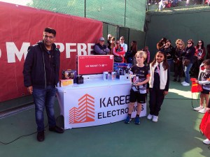 La firma Kareena Electronics colabora con el tenis ceutí con la celebración de este torneo