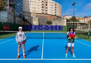 Dos de los jugadores que han abierto el cuadro del torneo