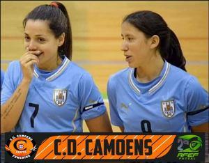 Las dos nuevas jugadoras uruguayas del Camoens