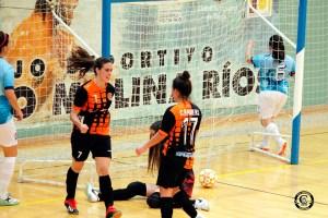 Anaraida felicita a Rocía tras marcar