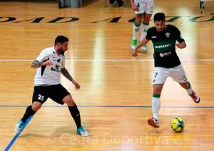 Saúl Olmo (i) ha vuelto a ser convocado tras su lesión de rodilla del pasado mes de diciembre