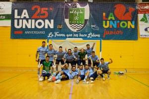 Los ejidenses celebran su clasificación para el definitivo 'play off' de ascenso a Primera División