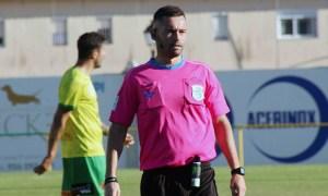 El sevillano Gutiérrez Perera arbitrará por cuarta vez un partido del Ceuta en Tercera