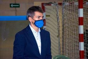 Juanlu Alonso, entrenador del Manzanares FS