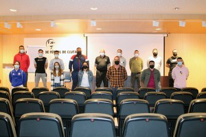 Una imagen de los participantes en la reunión / Foto: FFCE