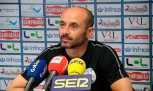 Dimas Carrasco, entrenador del Ciudad de Lucena
