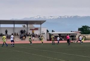 Una imagen del partido disputado este domingo en tierras granadinas