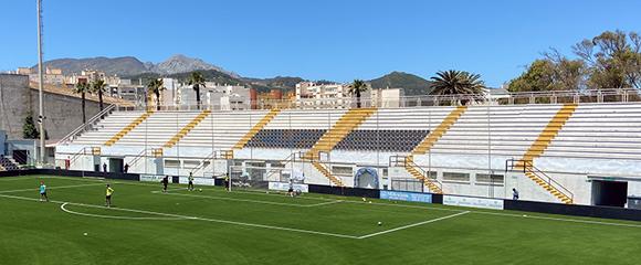 Vista parcial del estadio Alfonso Murube