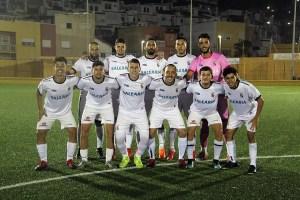 Formación del filial de la AD Ceuta FC