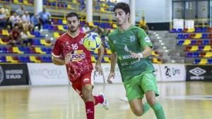 Hugo Alonso (i), nuevo jugador de la UA Ceutí