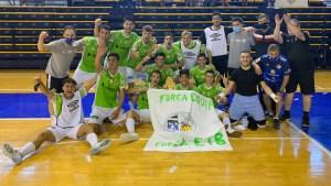 El filial del Palma Futsal celebra su ascenso a Segunda