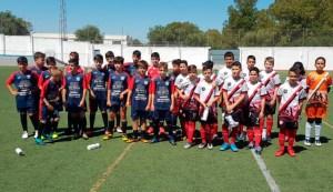 Los alevines del Foso Ceuta y el Rayo Alcalá