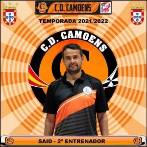 Así ha anunciado el Camoens la continuidad de Said Mohamed