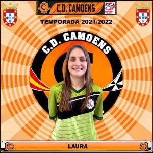 Laura, nueva portera del Camoens