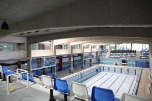 Aspecto de la piscina del 'Guillermo Molina' tras las obras acometidas