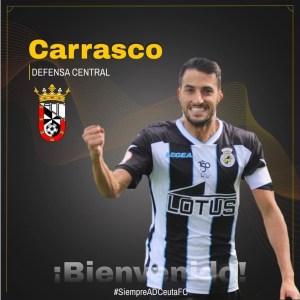 Carrasco ya es nuevo jugador del Ceuta