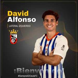 El Ceuta ha oficializado el fichaje de David Alfonso