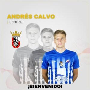 La AD Ceuta le ha dado la bienvenida para su filial a Andrés Calvo