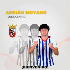 Así ha anunciado el Ceuta el fichaje de Moyano