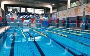 Imagen de la piscina del Complejo Deportivo 'Guillermo Molina Ríos'