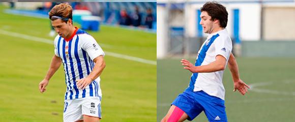 David Alfonso y Adrián Moyano se incorporarán al Ceuta