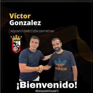 El sevillano será ayudante de Edu Villegas en la dirección deportiva de la AD Ceuta