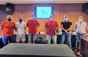 Miembros de la junta directiva del Comité Técnico de Árbitros de la FFCE