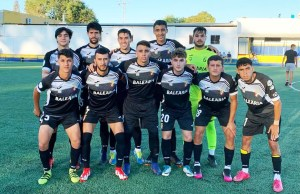 Formación del Ceuta B en la segunda parte del partido del pasado sábado ante el San Bernardo