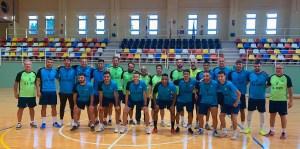Los integrantes de la UA Ceutí, en el comienzo de su pretemporada