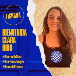 Así le ha dado la bienvenida el Tenerife Echeyde a la ceutí Clara Ríos