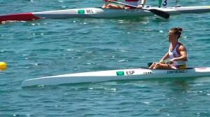 Isa Contreras, poco antes de su debut olímpico en Tokio
