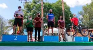 Javier Ocaña, en lo más alto del podio en Arcos de la Frontera