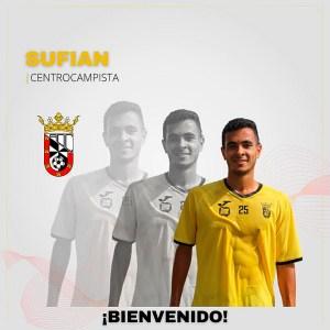 Así ha comunicado la AD Ceuta FC el fichaje de Sufian