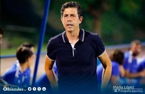Alberto Gallego, entrenador del Recreativo de Huelva