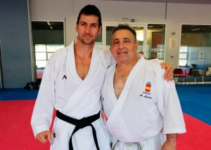 Cristóbal Mateo y Ángel Arenas