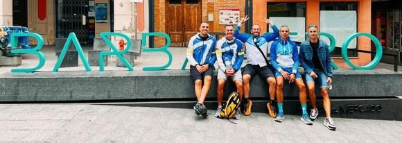 Los cinco policías locales de Ceuta, en la localidad oscense de Barbastro