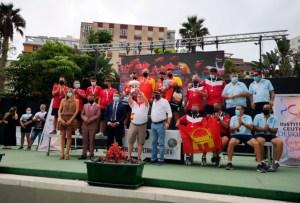 Imagen del podio final del Campeonato de España / Foto: S. Camacho