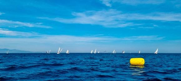 La regata se ha celebrado enfrente de la playa Benítez