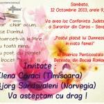 Bocşa, 12 Octombrie 2013