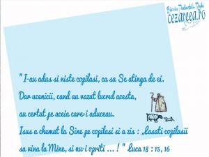 Luca 18, 15-16