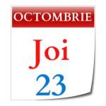 JOI, 23 Oct. 2014